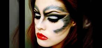 how to create a sultry she wolf makeup look for halloween makeup wonderhowto