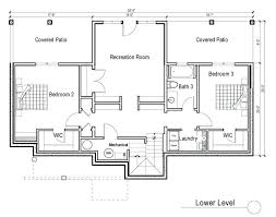 plans ranch house plans with walkout basement on fabulous design ideas for style homes