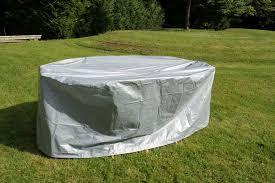 Housse Salon De Jardin Table Ovale Protection Haute Qualit Polyester ...