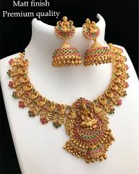 Artificial Jhumka Designs With Price Temple Necklace Set With Temple Jhumkas Price 2020