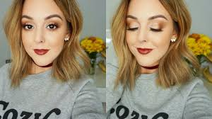 fall makeup colour pop i think i love you shaylee glaziner