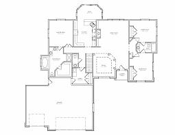 split bedroom ranch hosue plan 3 bedroom ranch house plan