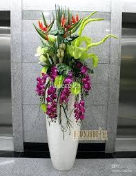 flower vase decoration home large floor fashion set