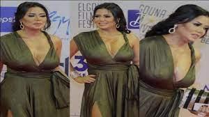 """فستان """"رانيا يوسف"""" يثير الجدل في مهرجان الجونة - YouTube"""