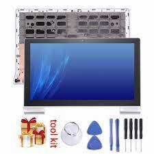 Mới cho 13.3 inch Lenovo YOGA Tablet 2 Pro 1380 Màn Hình LCD và Digitizer  Đầy Đủ Lắp Ráp với Khung sửa chữa phần|Màn hình LCD & màn hình máy tính bảng
