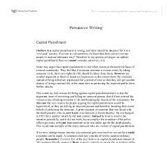 essay on capital punishment argumentative essay on capital punishment