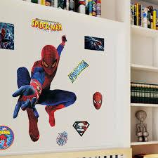 marvel superhero wall stickers home ideas