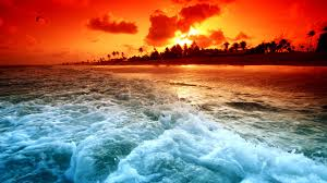 miami-ocean-beach-sunset-high ...