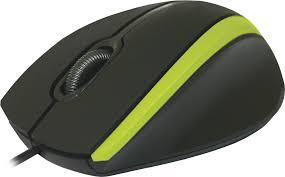 Компьютерная <b>мышь Defender</b> #<b>1 MM-340</b> Black/Green купить ...