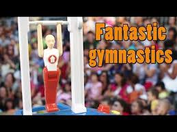 fantastic gymnastics. fantastic gymnastics game from hasbro