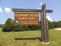 Image result for elephant rocks state park