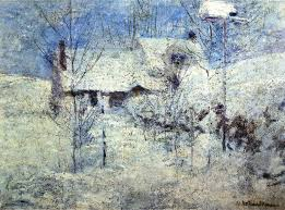 the extended metaphor andy s writing tips john henry twachtman s snowbound used for the cover on an earlier penguin edition