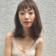 顔の形別で見つける本当に似合うトレンドヘアスタイル Un Ami 表参道