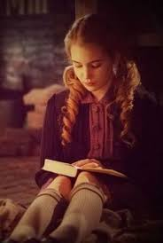 best the book thief images the book thief  sophie nelisse reads in the book thief