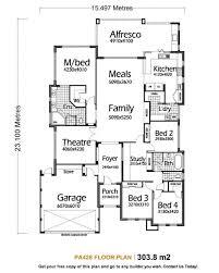 Open Floor Plans For Single Story Mediterranean Modern Homes 3394 Open Floor Plans For One Story Homes