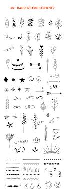 手書き風デザインに使えるベクター素材 8 Nxworld