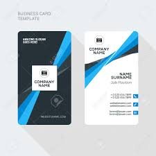 Card Flat Cliparts Sided Image And Illustration Vectors Two 52841530 Royalty Template Creative Clean Stock Modern Free Business