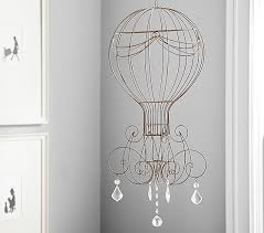 Wire & Crystal Hot Air Balloon