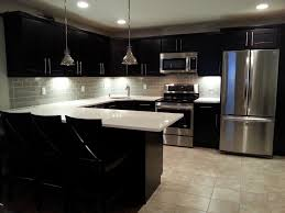 Large Tile Kitchen Backsplash Large Subway Tile Backsplash Wonderful Ice Glass Kitchen