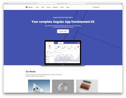 Bootstrap Landing Page Design 33 Awesome Html5 Landing Page Templates 2019 Colorlib