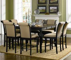 counter height dining table set. Edgewood 101820_101828+8X9-b Counter Height Dining Table Set V