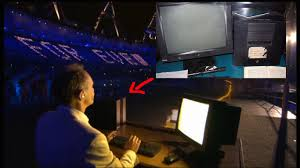 sir tim berners lee on a next cube during the olympic opening sir tim berners lee on a next cube during the olympic opening ceremony excellent attention to detail