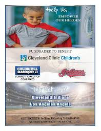Cleveland Clinic Childrens Indians Baseball Game Fundraiser
