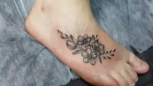 татуировки фото цветы