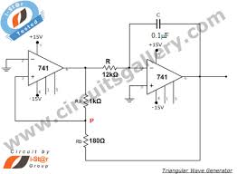 square wave produces a triangular wave practical circuit diagram of circuitdiagram signalprocessing subfilesawtoothwavecircuithtml square wave produces a triangular wave practical circuit diagram of