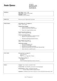 resume and sample resume on pinterest