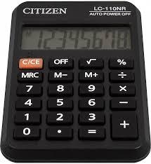 "<b>Калькулятор карманный</b> ""<b>Citizen</b>"" LC-110NR, 8 разрядный ..."