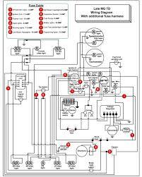 mg td wiring diagram wiring diagrams mg td wiring diagram