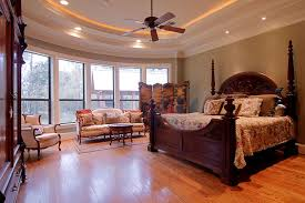 tray ceiling lighting ideas rope elegant master bedroom