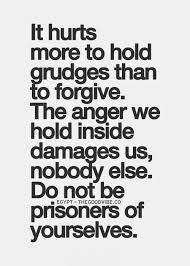 Quote About Holding Grudges
