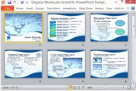 Science Project Presentation Template Science Fair Powerpoint