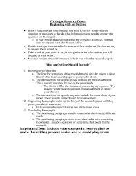Writing A Research Paper Outline Importance Of Having A Research Paper Outline Pdf Free
