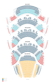 Jones Hall Seating Chart View The Ellie Caulkins Opera House Denver Center For The