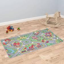 tapis de jeu poil a boucle 190 x 290 cm motif de route de ville 1270158729 l jpg