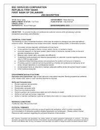 Download Bank Teller Resume Haadyaooverbayresort Com