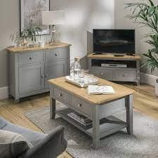 nebraska oak dark grey coffee table