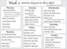 Weekly Household Chores Weekly Household Chore List Chores Checklist Excel Template Strand
