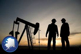Image result for image of alaska oil well