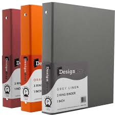6 Inch Binders Cloth Covered Heavy Duty 3 Ring Binder Jam Paper