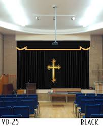 custom size curtains church cutains and drapes for all houses of worship
