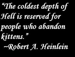 Robert Heinlein Quotes Interesting Robert Heinlein Quote About Kittens Heinlein Pinterest
