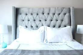 diy tufted headboard king size queen upholstered using pegboard