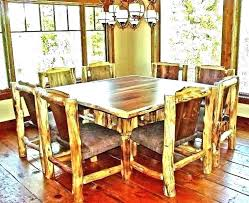 rustic round pedestal dining table round wood kitchen tables