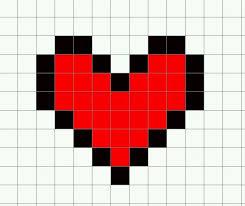 27 Images Of Pixal Art Template Cut Word Leseriail Com