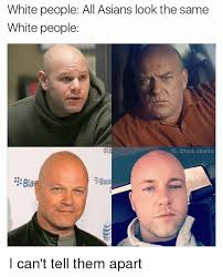 All look same asian
