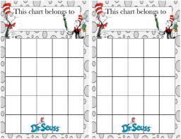 Dr Seuss Incentive Chart